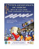 Réalisation de l'affiche pour la ville de Binche