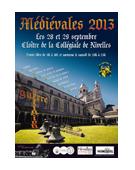 Réalisation de l'affiche pour la ville de Nivelles