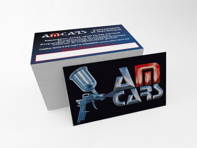 Cartes de visite AMCars