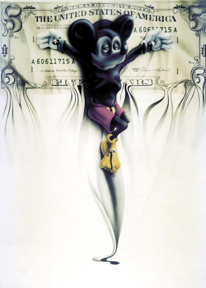 Illustration Hommage à Mickey