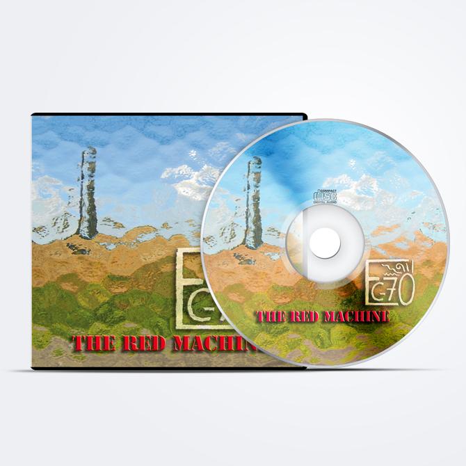 Pochette CD pour un groupe de musique