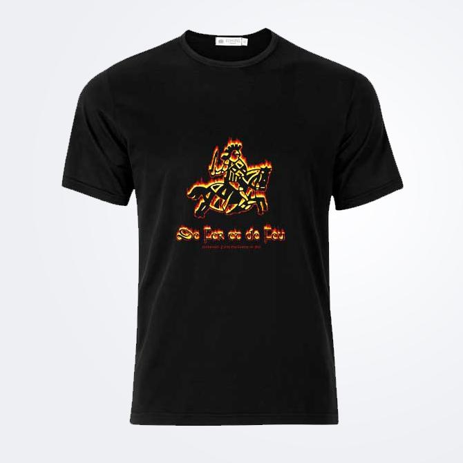 T-shirt De Fer et De Feu