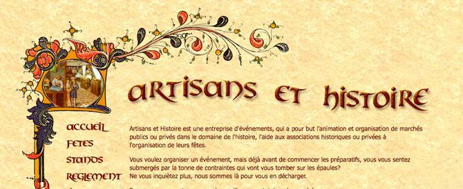 Site Artisans et Histoire