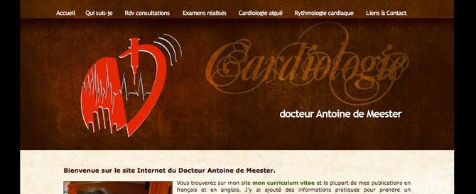 Site Docteur Antoine de Meester